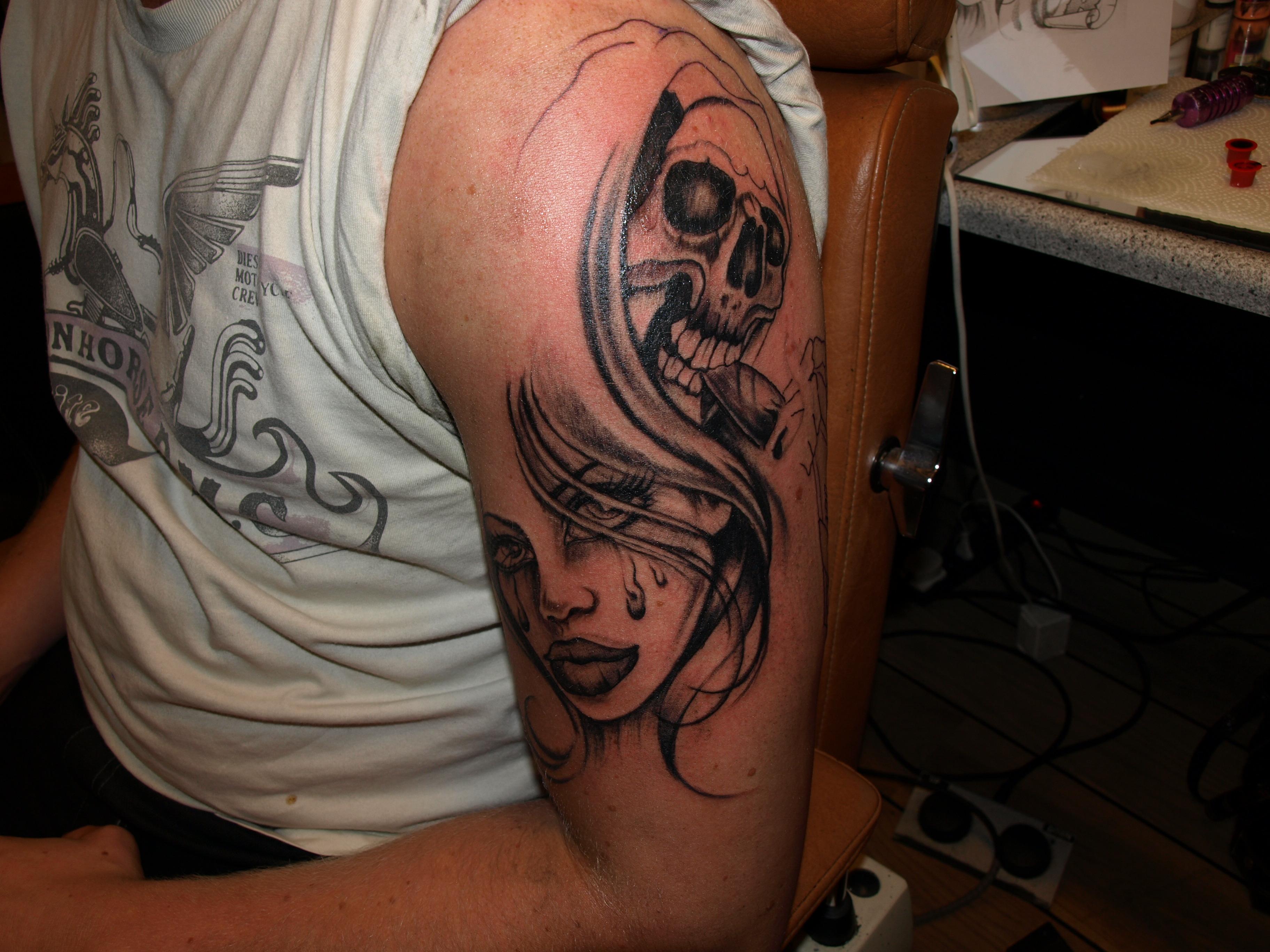 Fari brady tattoo body piercing shading tattoo for How to shade tattoos